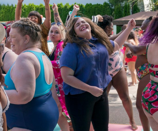 *Shrill's* Fat Babe Pool Party is one of the most vibrant and lasting moments from the hit series.