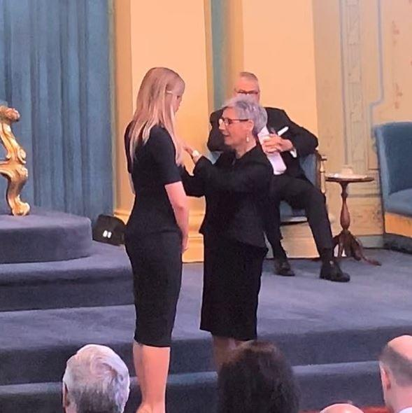Congratulations Carrie!