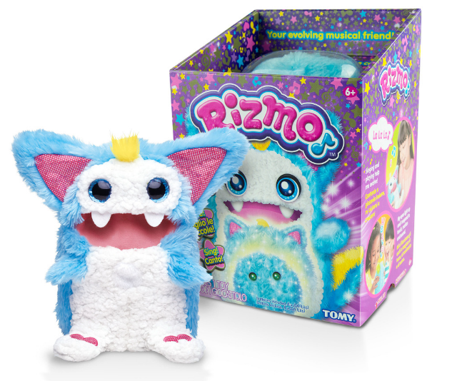 **Rizmo, RRP $89.95:** Combining the most popular toy trends of today including voice technology, virtual pets and interactivity (think Tamagotchi and Furby). Rizmo listens, learns, remembers and grows with its owner, both in play value and physical form. Rizmo is available in pink, blue and white and can be found nationally in all major retailers.