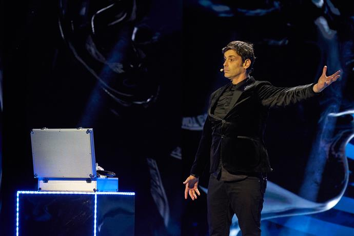 """**Lioz Shem Tov: Comedy Illusionist, 42** <br><br> """"For me, being in the final and giving the Australian audience a good time is the real win,"""" Lioz, who travelled all the way from Israel to impress audiences Down Under, explains."""