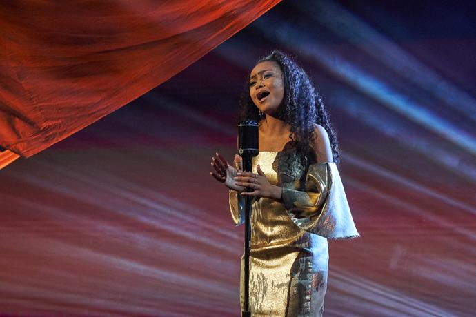 """**Olina: Singer, 16** <br><br> If singer Olina Loau wins the $100,000 prize, she knows exactly what she'd do with the money.  <br><br> """"I'd give it to my dad, then he can do whatever he wants with it!"""" Olina, 16, laughs. <br><br> """"I'd give it to my family as well – my auntie. I wouldn't keep it to myself!""""  <br><br> The performer owes a lot to her family.  <br><br> Her aunt Helen took her and her dad in when Olina's mother walked out when she was nine.  <br><br> Olina hasn't had any contact with her since – she's not even sure whether her mother knows about her *AGT* success.  <br><br> """"Of course I'd want her to know that I'm on the show,"""" she says.  <br><br> Everyone in Olina's extended family is musical, but for Olina, singing holds a special place in her heart.  Focusing on lessons and competitions helped ease the pain of her mother leaving.  <br><br> """"That's the reason why I'm in love with music so much, because it did take me away from that,"""" she reveals."""