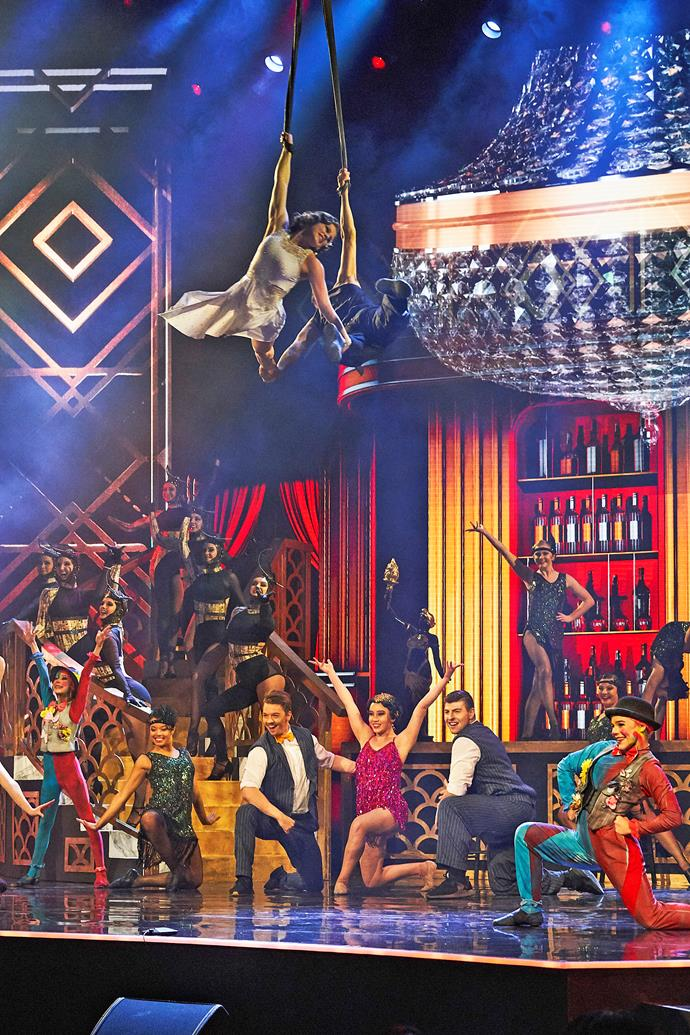 """**Akrobatika: Acrobatic Troupe, 8-30** <br><br> Studio director Jo brought together students from across the globe to inspire them to chase their dreams. The team have """"enjoyed so much growth from the boost in confidence"""" they've all felt since Manu awarded them the golden buzzer."""