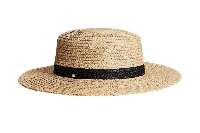 "[Witchery Becket raffia boater hat, $69.95](https://m.witchery.com.au/Product/60245243-115/becket-raffia-boater|target=""_blank""