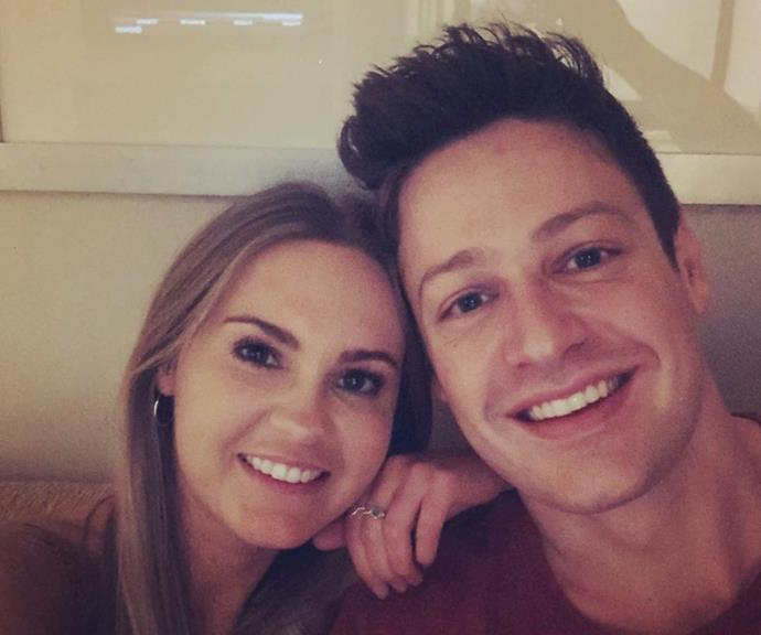 Matt and Chelsie posted this cute selfie to Instagram, proving that they are still together.