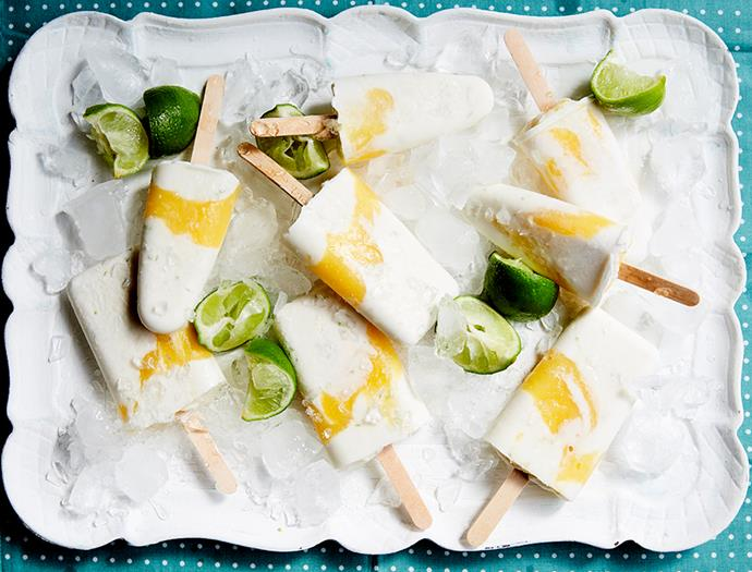 "[Mango, lime and coconut swirl popsicles](https://recipes.vegkit.com/mango-lime-coconut-swirl-popsicles|target=""_blank""