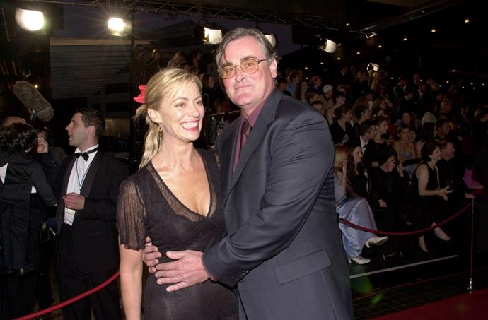 Kerry with *SeaChange* co-star John Howard at the TV Week Logie Awards in 2000 - the year she gave up on acting.