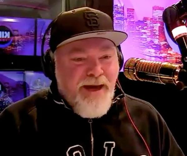 Kyle Sandilands was forced to hit back at Sam's on-air digs.