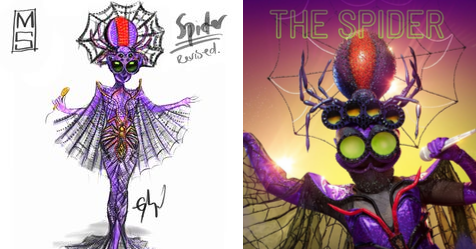 EXCLUSIVE PICS: Costume designer Tim Chappel reveals the INCREDIBLE designs from The Masked Singer | Now To Love