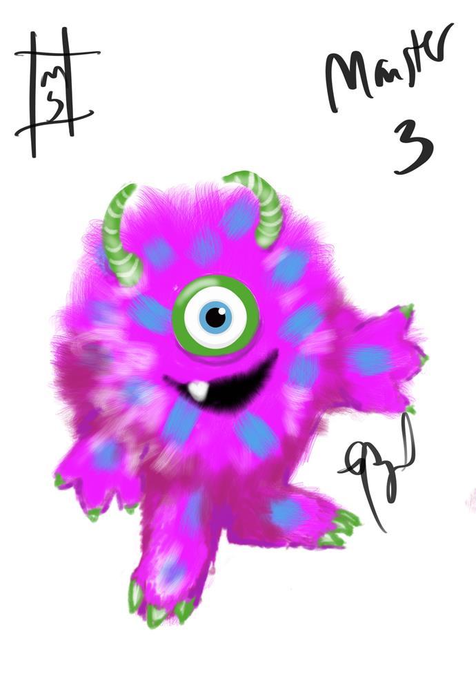 ***The Sketch:** She's so fluffy!!!