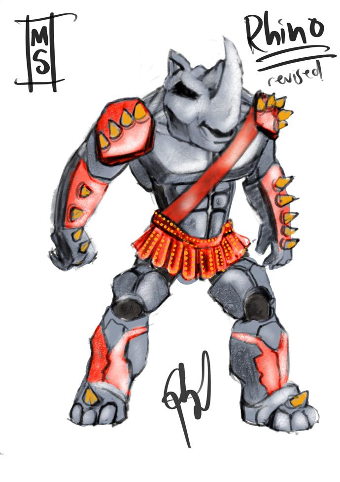 ***The Sketch***: En guard! The Rhino is ready for war!