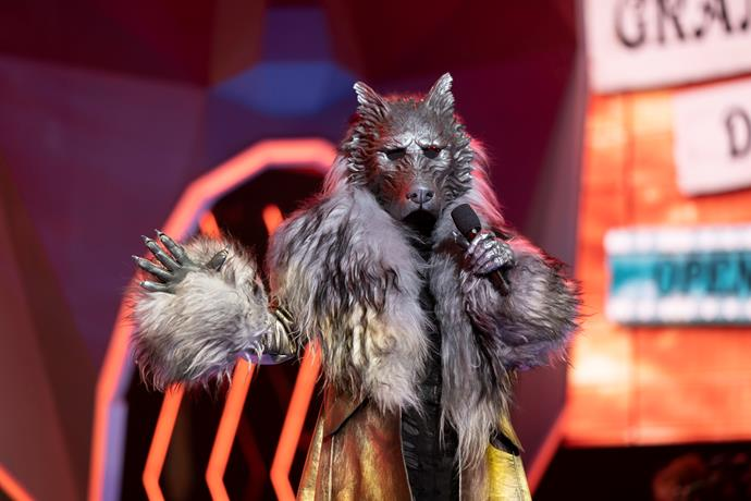 The security on The Masked Singer has been described as 'next level.'