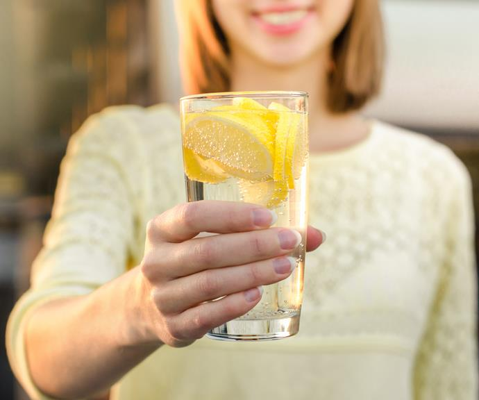 Time to ditch the lemon water and just drink regular water.