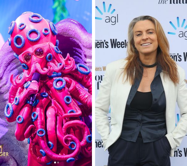 The Octopus has been unveiled as former *Big Brother* host, TV personality and comedian ***Gretel Killeen***!