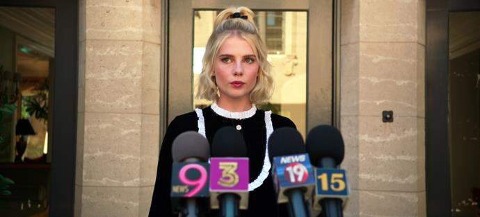 Lucy Boynton's Astrid is a force to be reckoned with.