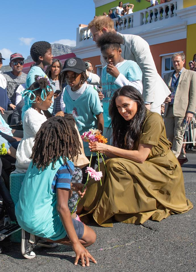 Meghan may have only been a royal for just over a year but she's a natural!