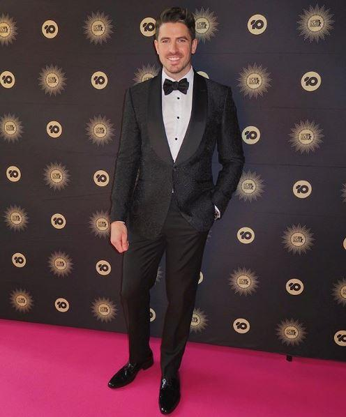Scott Tweedie attends the 2019 TV WEEK Logie Awards.