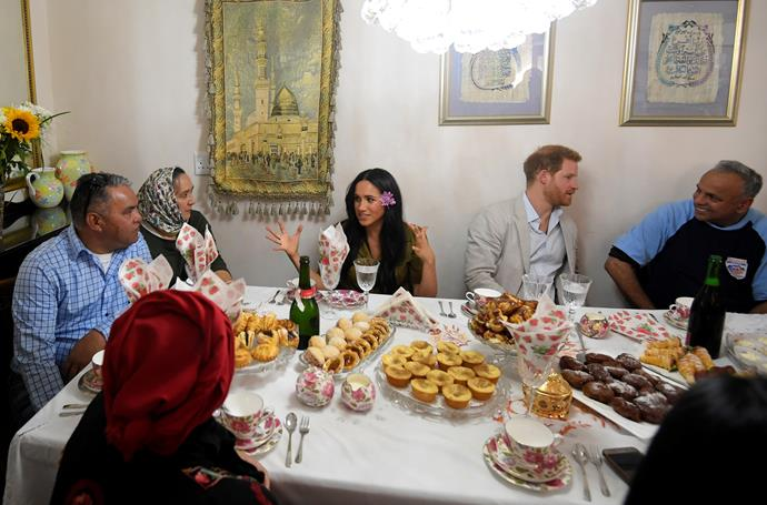 The couple also enjoyed a spot of afternoon tea as part of the Heritage Day public holiday celebrations.