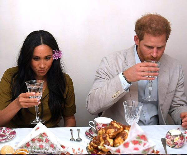 If only we could have Harry and Meghan round for tea!