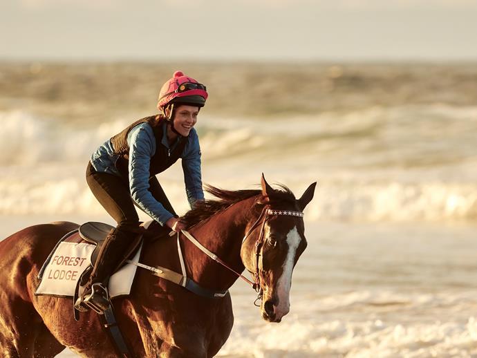 Teresa Palmer stars as Michelle Payne in *Ride Like A Girl.*