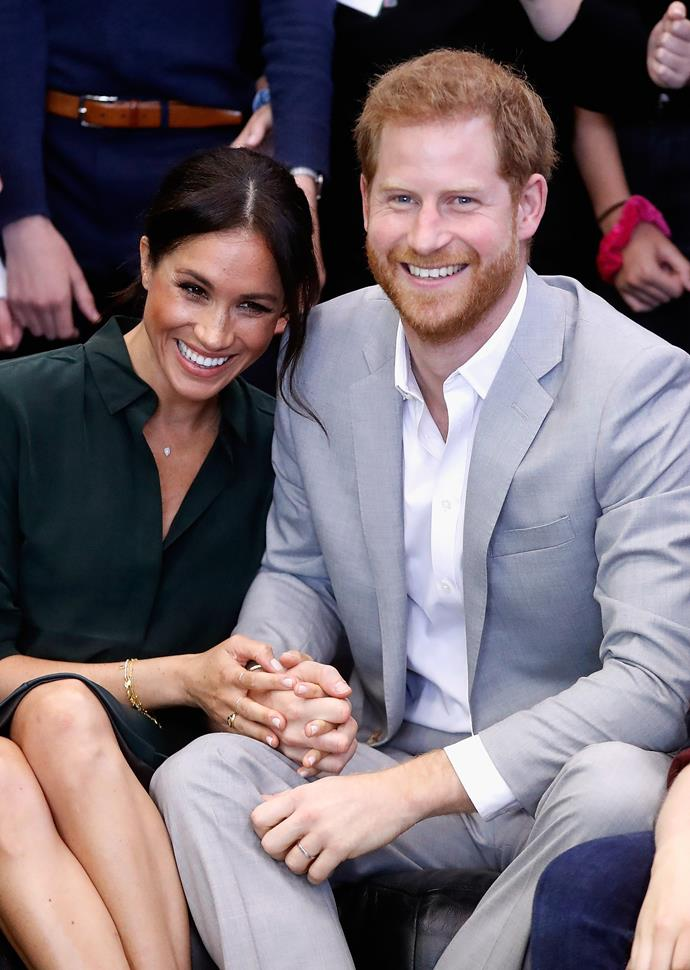 These two are always holding hands during their official royal outings.