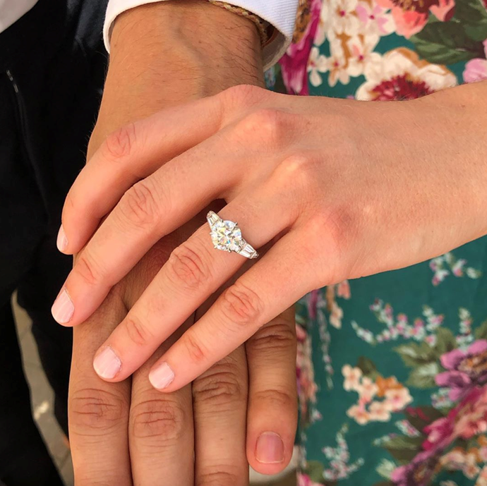 And that ring is simply gorgeous!