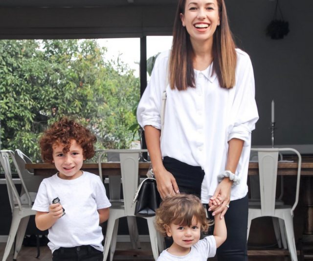 **mother + joey:** Hunter Valley company mother + joey was created as the first Australian clothing label dedicated to creating matching outfits. Now *that* is what you call winning twinning!