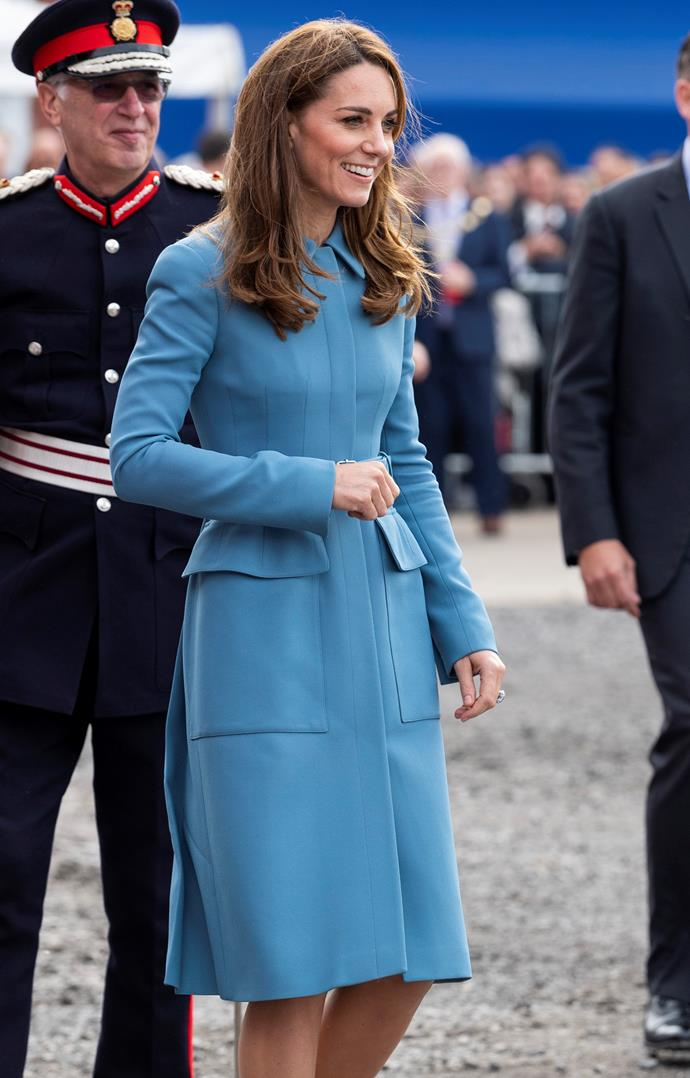 This colour looks gorgeous on Kate.