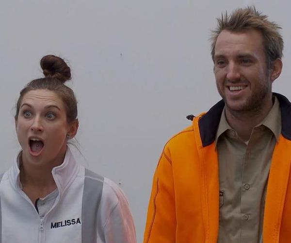 Jesse and Mel are as shocked as we are!