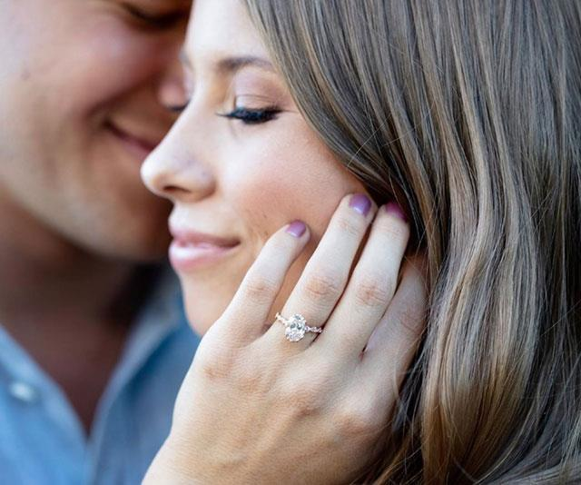 Bindi's stunning ring.