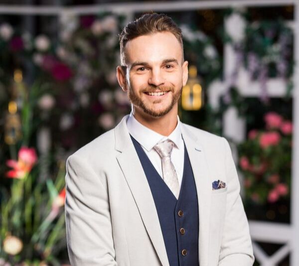 Angie's brother, Brad posed as a Bachelor!