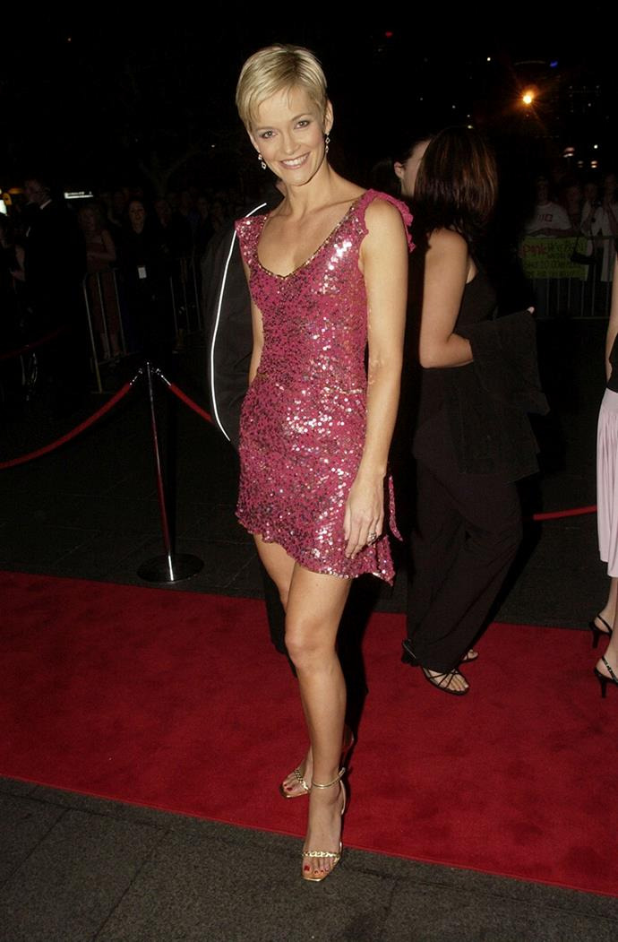 Those pins! Even in 2004 we were loving Jess Rowe's colourful looks.