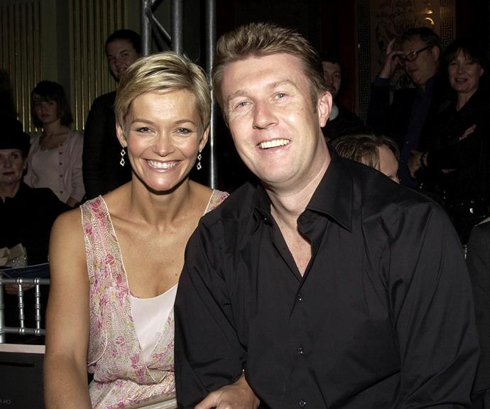 The pair at Fashion Week in 2004.
