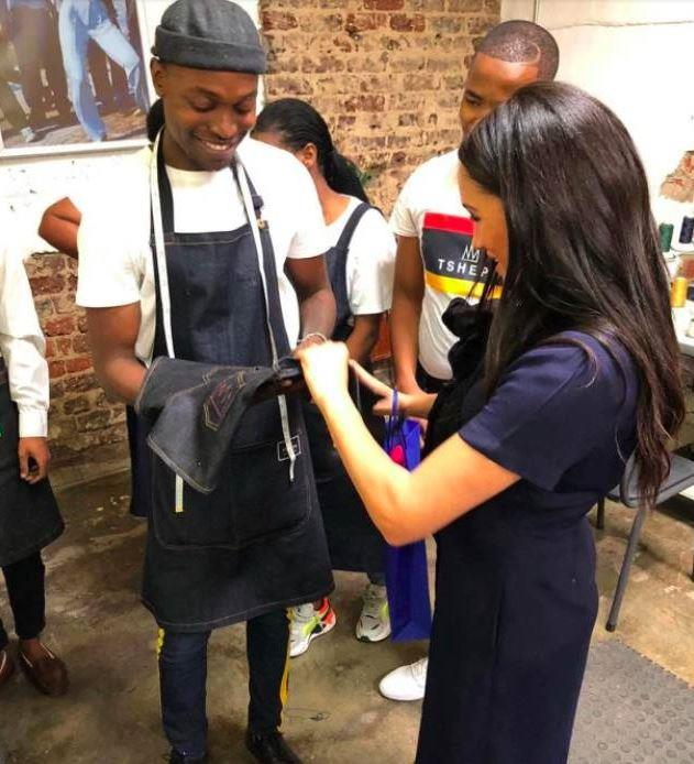 Dungarees fit for a Baby Sussex!
