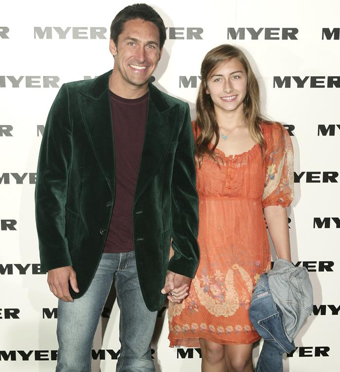 Jamie Durie and his daughter Taylor pictured in 2007.