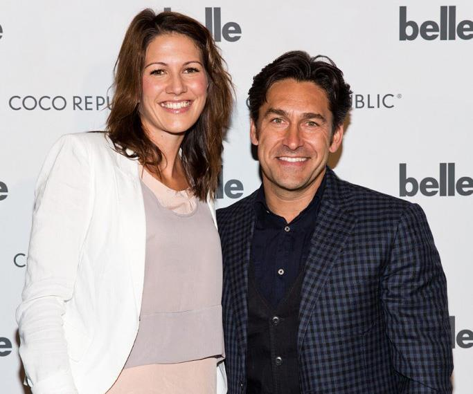 Lisa Christie and Jamie Durie pictured together at an event in 2013.