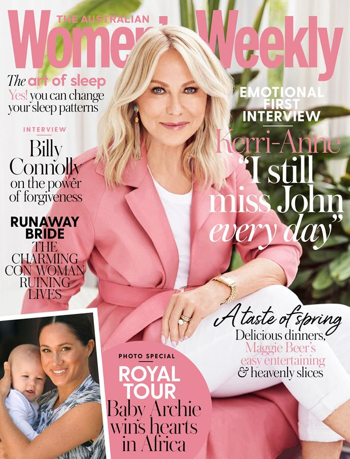 The November issue of The Australian Women's Weekly is on sale now.