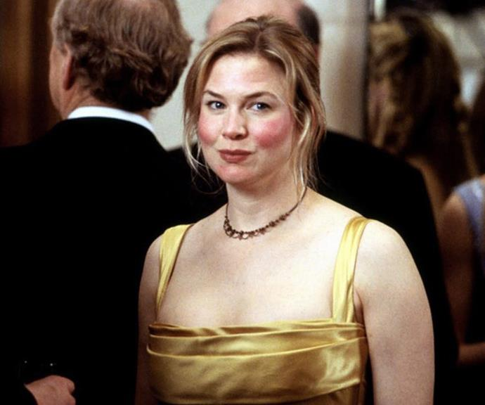Zellweger famously gained 15kg to play Bridget Jones.