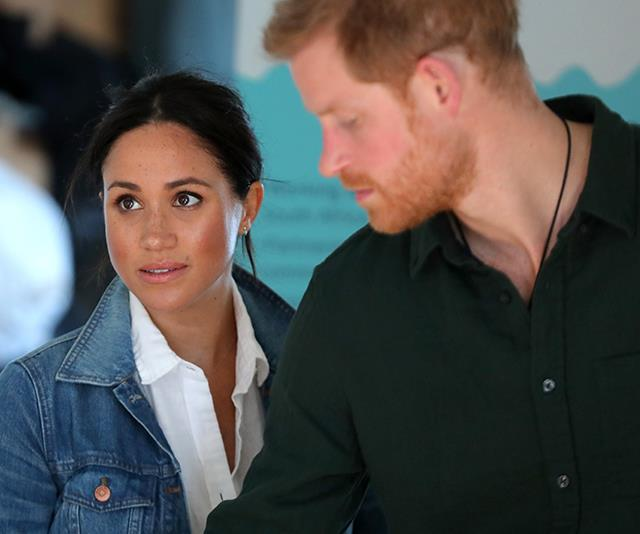 Prince Harry defended Meghan back when they were dating in 2016 via a similar statement.