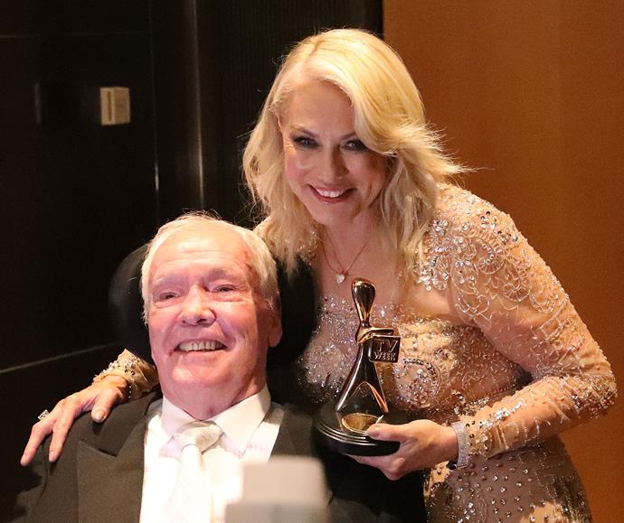 "Kerri-Anne was inducted into the Logie Hall of Fame in 2017. In her speech, Kerri-Anne said, ""I can honestly say that I would give away 50 years of this career and anything else I could if I could have [John] standing here beside me."""