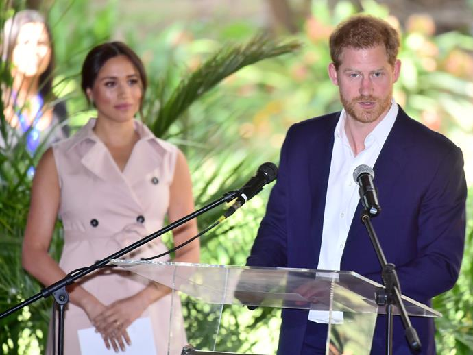 Harry and Meghan say they will no longer engage with the British tabloid media.