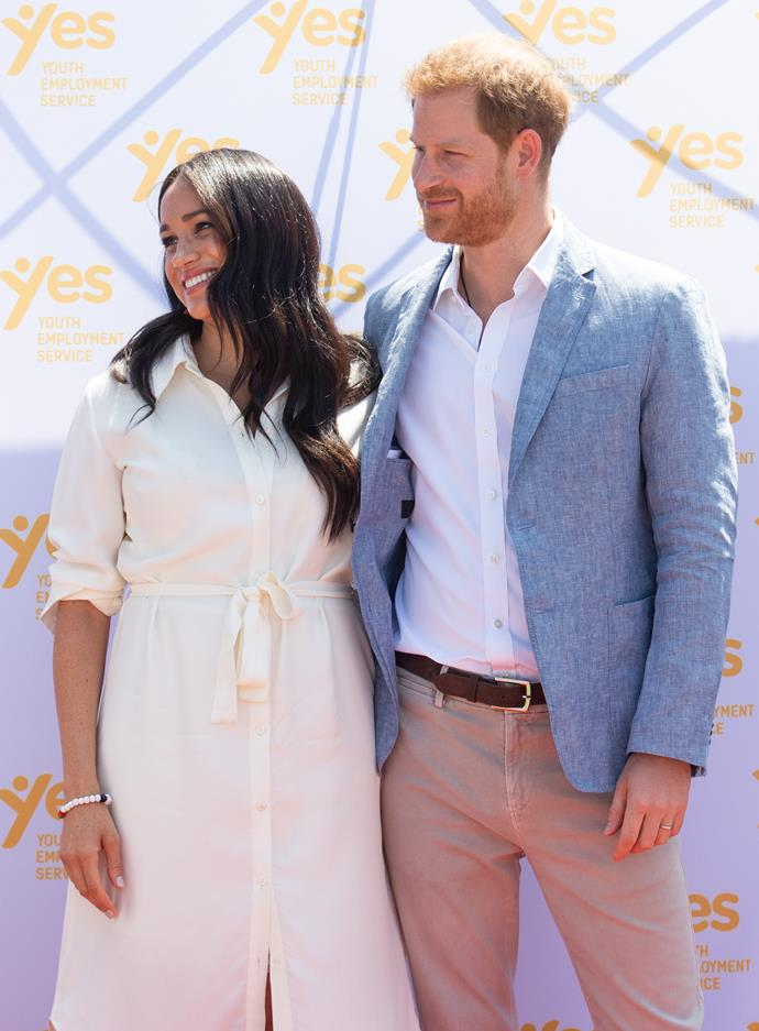 Harry and Meghan couldn't keep their hands off each other!
