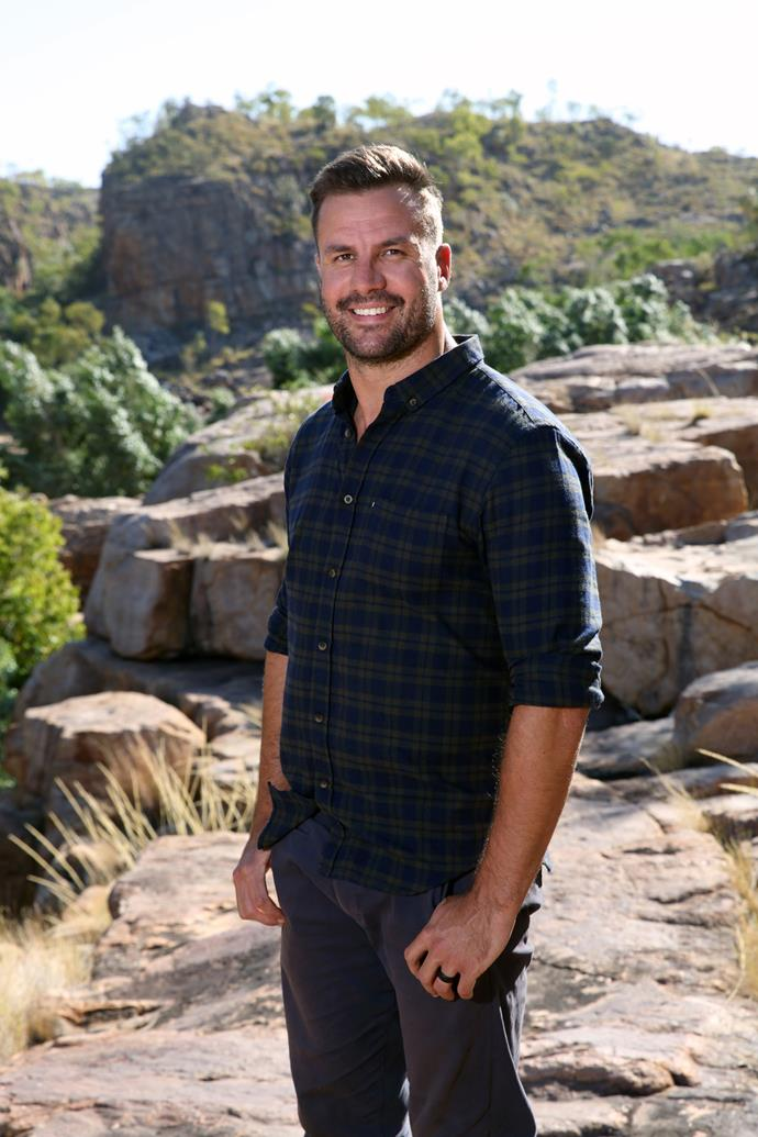 Beau Ryan is hosting *The Amazing Race Australia.*