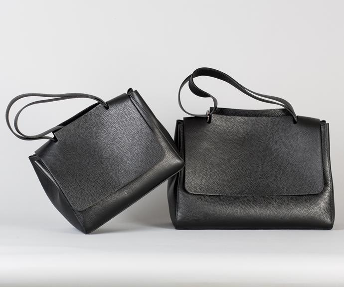 The Katie bag comes in two sizes, $220 for the small and $250 for the large.