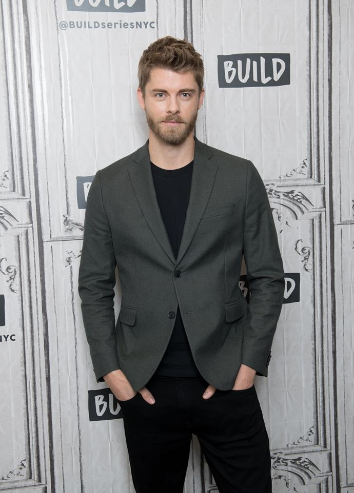 Luke Mitchell lands a huge new gig.