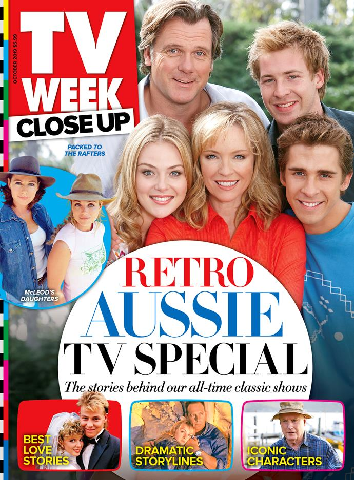 Looking for more retro Aussie TV interviews and throwbacks? Don't forget to pick up a copy of the new issue of TV WEEK Close Up, on sale now.