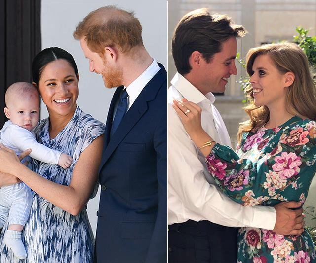 Beatrice and Edo announced their engagement just 24 hours after Meghan and Harry gave the world an incredible glimpse of their son, Archie.