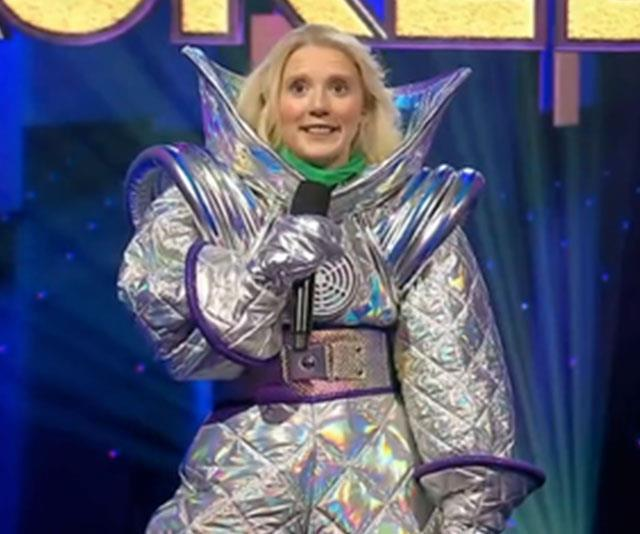 Nikki was revealed as The Alien on *The Masked Singer*.