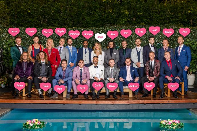Meet the cast of *The Bachelorette Australia* 2019.