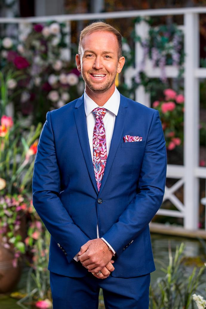 **Jess, Local Politician, 36, Queensland** <br><br> Much like Emma Roche from this year's season of The Bachelor, Jess is in love with love. He's hoping to find a partner and a best friend, who he can share adventures with.