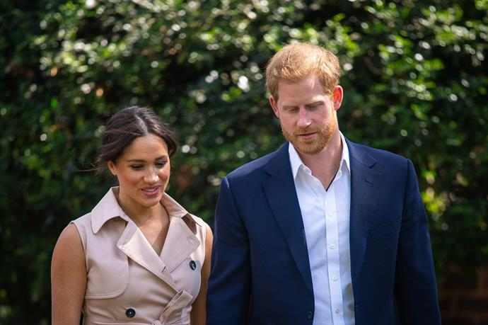 The Duke of Sussex issued a rare statement about the effects of the relentless scrutiny they were under from the media.